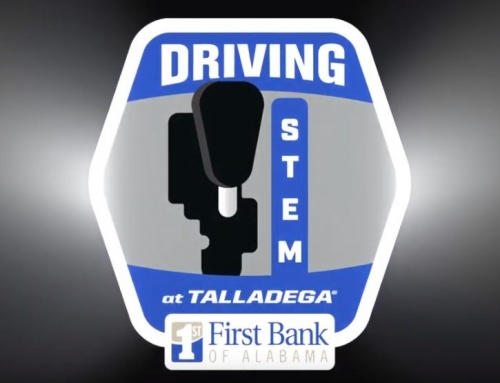 Driving STEM at Talladega Superspeedway