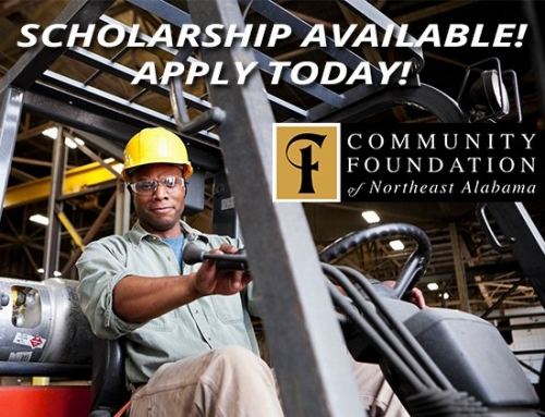 Non-Traditional Student / High Demand Occupation Scholarship Offered